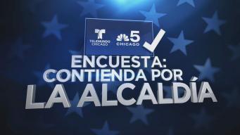 Telemundo Chicago / NBC 5: Encuesta contienda alcaldía de Chicago