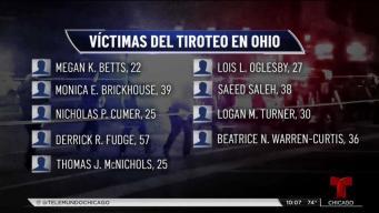 Honran la memoria de los fallecidos en matanza de Ohio