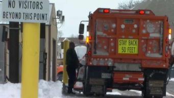 Tormenta deja copiosas acumulaciones de nieve en Chicago