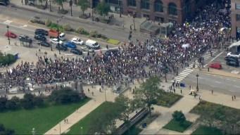 Chicago: cientos protestan contra el cambio climático