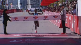 Tirunesh Dibaba; campeona del maratón de Chicago