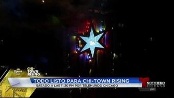 ¡Todo listo para Chi-Town Rising!