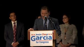 """""""Chuy"""" García: orgulloso de ser el primer inmigrante mexicano en llegar al Congreso"""