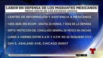 ¿Cómo el consulado de México en Chicago ayuda a migrantes?