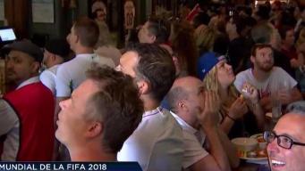 Aficionados en Chicago reaccionan ante la histórica semifinal