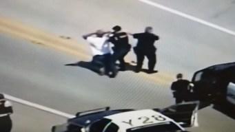 Un arresto tras persecución policial al sur de Houston