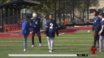 Estudiantes deportistas afectados por la huelga de maestros