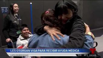 De México a Chicago: madres buscan ayuda médica para hijos