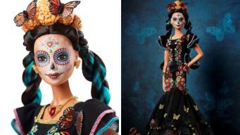 Barbie del Día de Muertos evoca a la tradicional Catrina