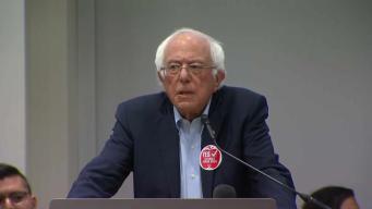 Sanders llega a Chicago para ofrecer su apoyo al Sindicato de Maestros
