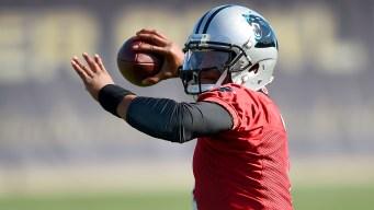 Cam Newton premiado como jugador más valioso de la NFL