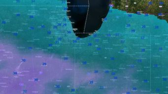 Advertencia de tiempo invernal para áreas de Chicago