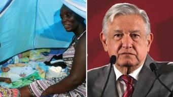 México: es del Congo y nombró a su bebé como AMLO