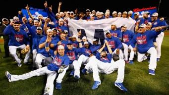 Los Cubs consiguen su pase a la Serie Mundial