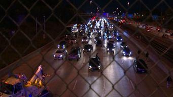 Reportes sobre posible tiroteo causa el cierre de la autopista Dan Ryan
