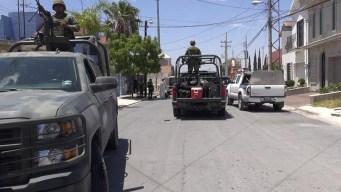Ocho muertos en enfrentamiento en Matamoros