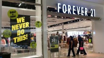 Forever 21 publica mapa que muestra tiendas que cerrarán