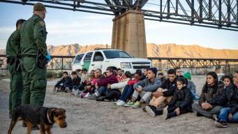 Bajan detenciones de migrantes en la frontera sur