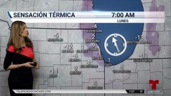 Peligroso frío polar no da tregua en Chicago y alrededores