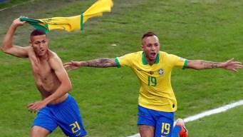 Brasil se siente campeón tras penal que decreta el 3-1