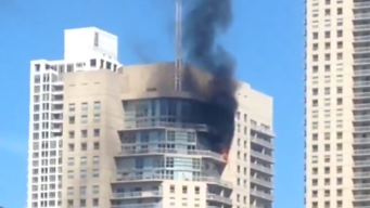 Investigan incendio en edificio del centro de Chicago