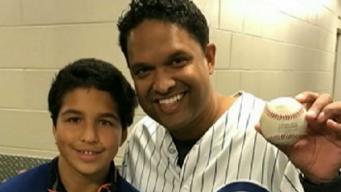 Padre e hijo cumplen sueño de ir a la Serie Mundial