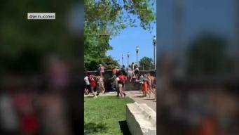 En video: multitud enloquece y se salta la valla de Lollapalooza