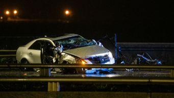 Muere hombre tras chocar contra barrera del Lake Shore Drive