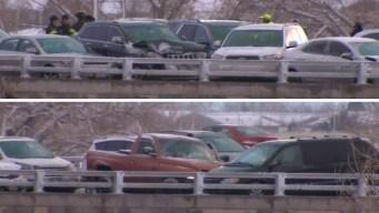 En imágenes: choque múltiple de 49 autos causa caos en Colorado