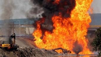 Explota gasoducto: un muerto y tres heridos