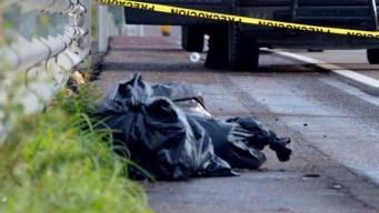 Hallan otras 12 bolsas con restos humanos en Jalisco