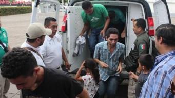 Liberan a 50 migrantes centroamericanos secuestrados