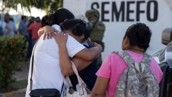 México: entregan los cuerpos de muertos en ataque