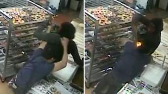 Panadero se enfrenta a ladrón y termina baleado