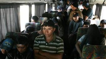 Presuntos traficantes aseguran que iban de retiro espiritual