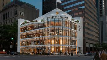 El Starbucks más grande del mundo pronto abre en Chicago