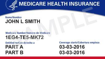 Nuevas tarjetas de Medicare para prevenir fraude