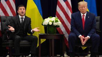 Revelan textos entre diplomáticos de Trump y Ucrania