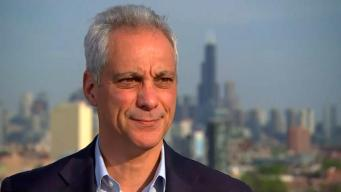 Última cara a cara con Emanuel como alcalde de Chicago
