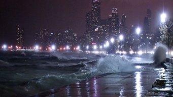 Vientos, tormentas y hasta granizo acechan a Chicago