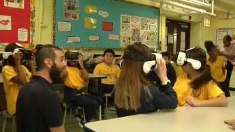 Alumnos de CPS reciben visita sorpresa