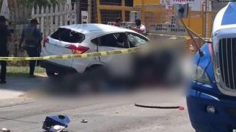 Balacera y persecución deja 2 muertos en Reynosa