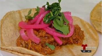 Cocina Telemundo: Tacos de Cochinita Pibil