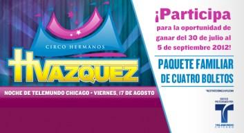 <!— #9 PUBLICIDAD, Circo Vazquez NO MOVER DE LUGAR --> ¡Prepare a toda la familia!