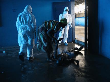 Fotos: la pugna de Africa contra el ébola