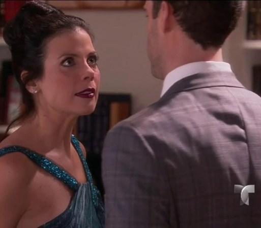 Bárbara sospecha que George tuvo algo que ver con el accidente de su ...