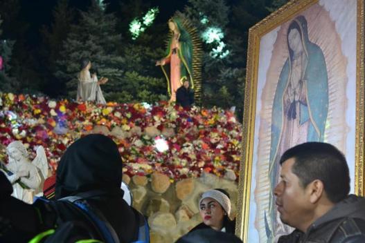 """Llega a México la """"Virgen Migrante"""" de Chicago"""