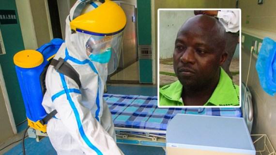 100 personas, posible contacto con ébola