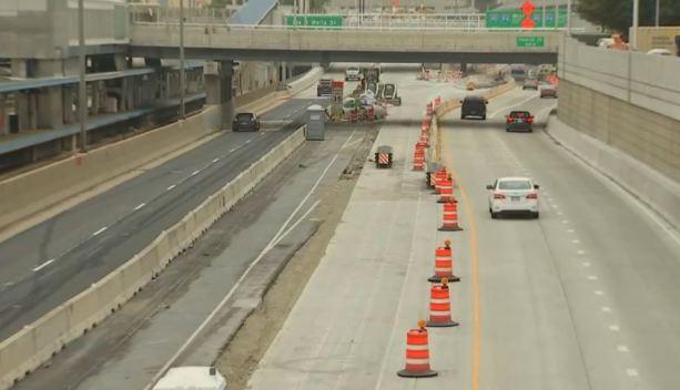Autopista Eisenhower: carril cerrará hasta 2020