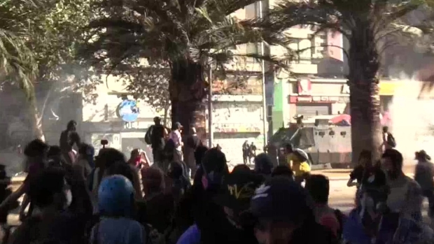 [TLMD - LV] Protestas en chile por séptimo día